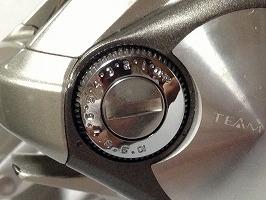 ベイトリール-ブレーキ調整