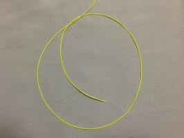 三つ編み結び-手順1