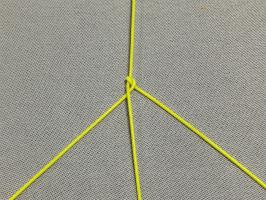 三つ編み結び-手順3
