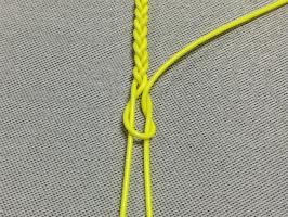 三つ編み結び-手順5