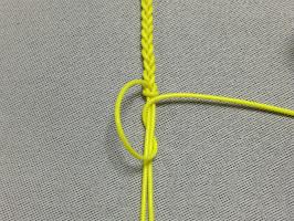 三つ編み結び-手順6
