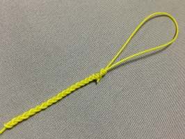 三つ編み結び-完成