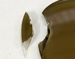 偏光サングラス フレーム無レンズ 破損例