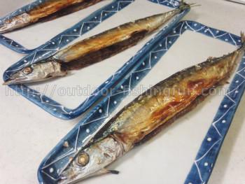 旬の秋刀魚 塩焼き