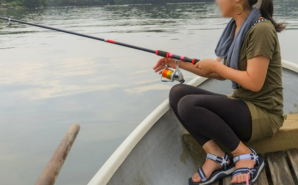 釣り 日焼け対策 女性にもおすすめ